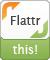 Logo von Flattr