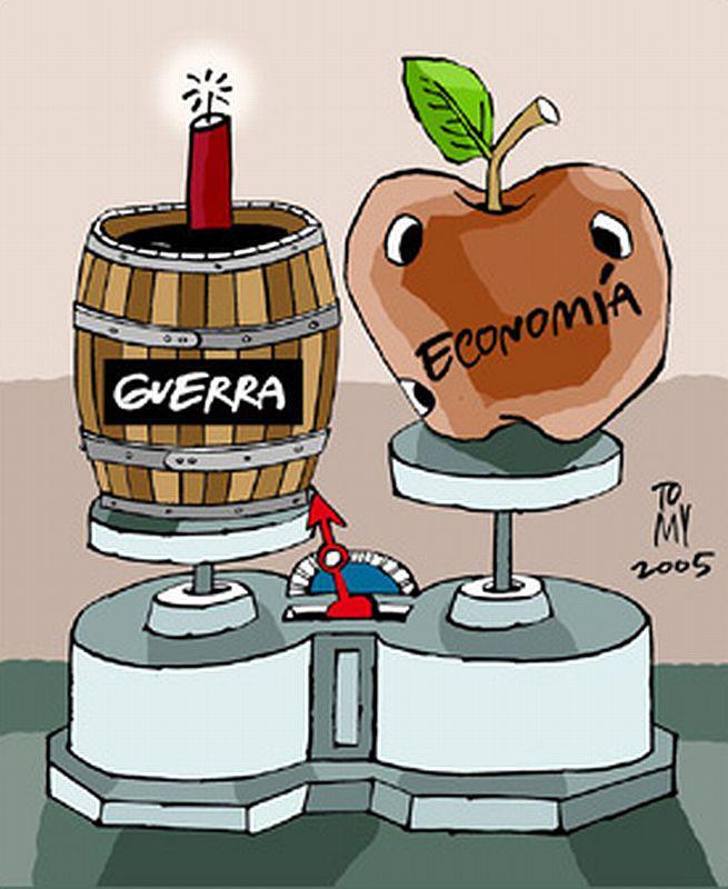 Militär als Schwergewicht, die Ökonomie ein wurmstichiger Apfel