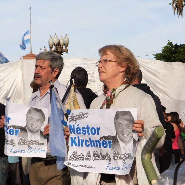 ... der Würdigung Nestor Kirchners.