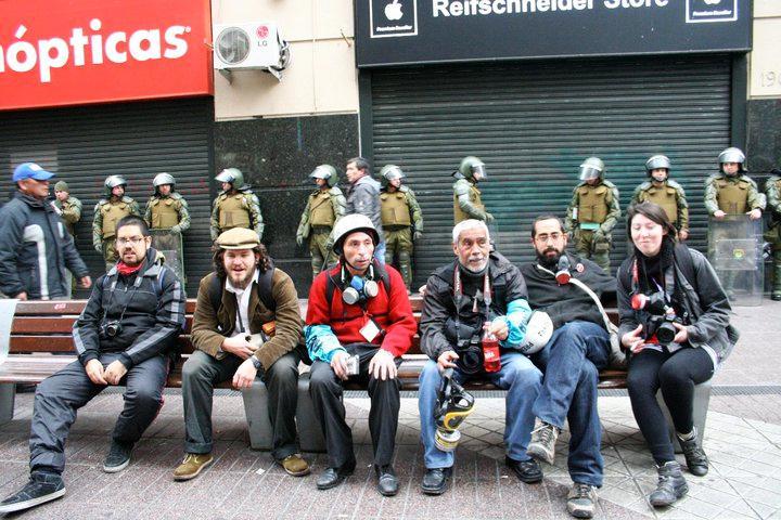 Fotoreporter der Gegeninformation