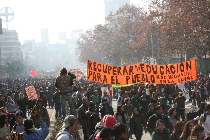 """Transparent: """"Wiederaneignung der Bildung für das Volk"""""""