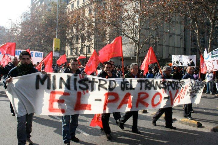 "Solidarische Transportarbeiter kündigen an: ""Transportminister, der Streik kommt"