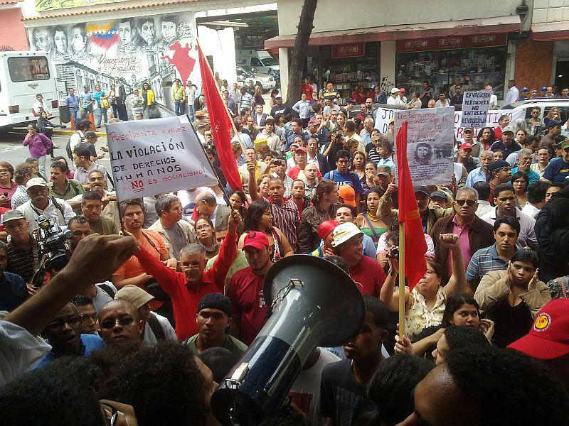 Etwa 300 Menschen beteiligten sich an der Protestaktion