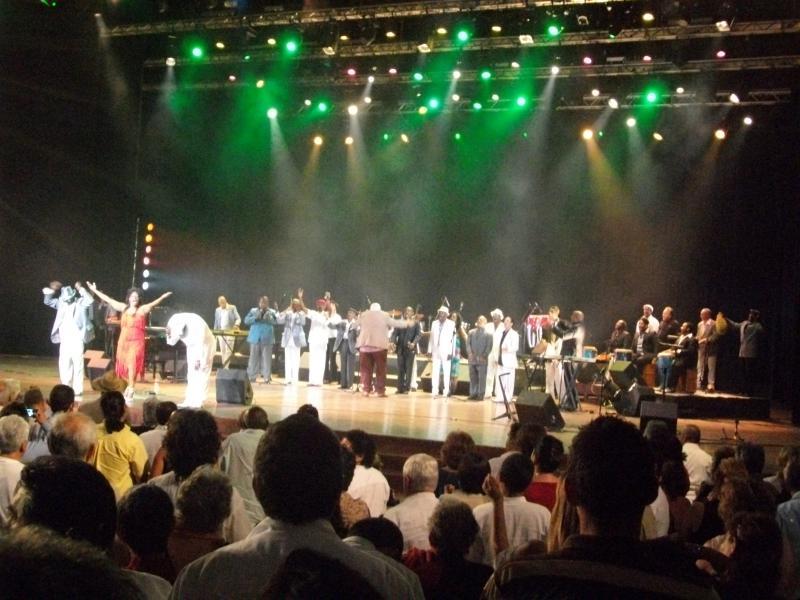 Das Konzert fand im Karl-Marx-Theater von Havanna statt.