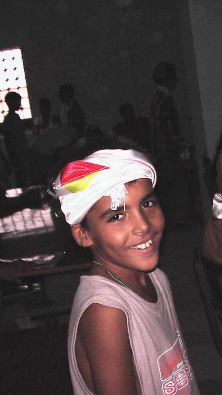 Porträt eines Schülers