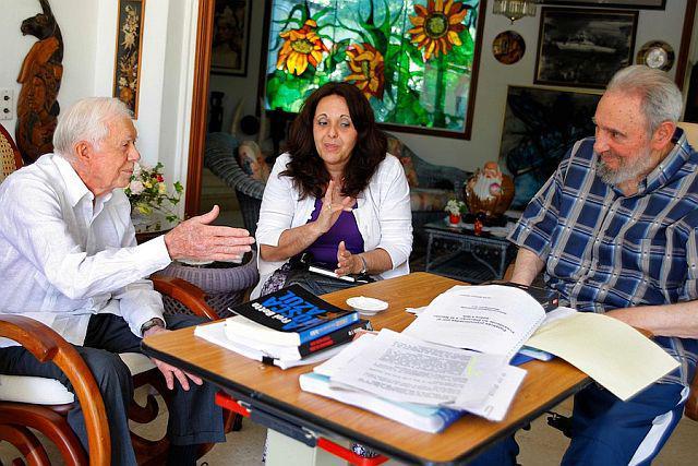Zusammenkunft mit Fidel Castro