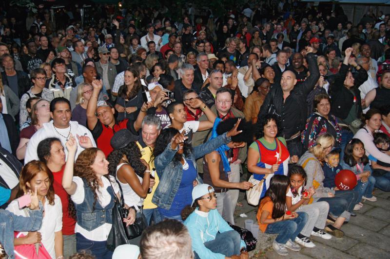 Beim Konzert von Buena Fe war auch kein Stehplatz mehr zu haben.
