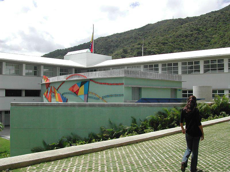 Das weitläufige Gelände der Klinik im Westen von Caracas
