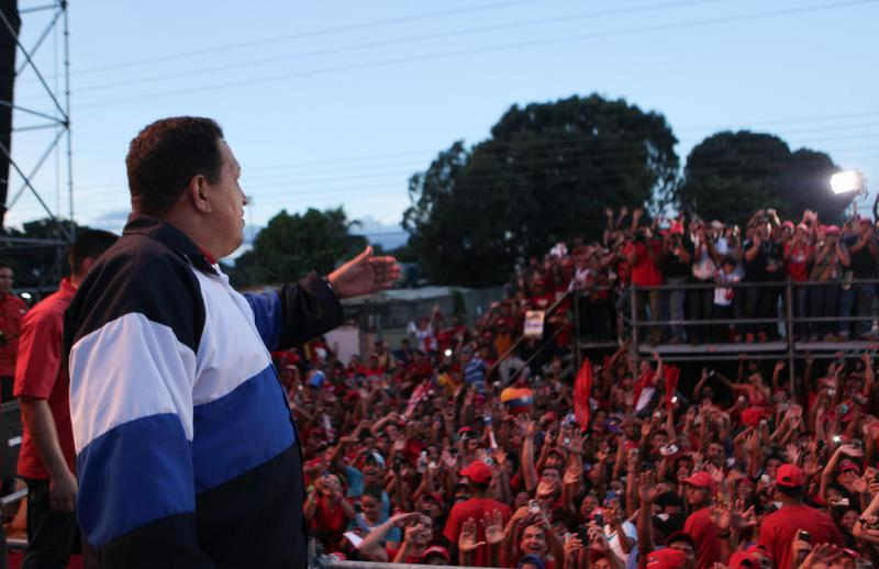 Hugo Chávez in Barinas