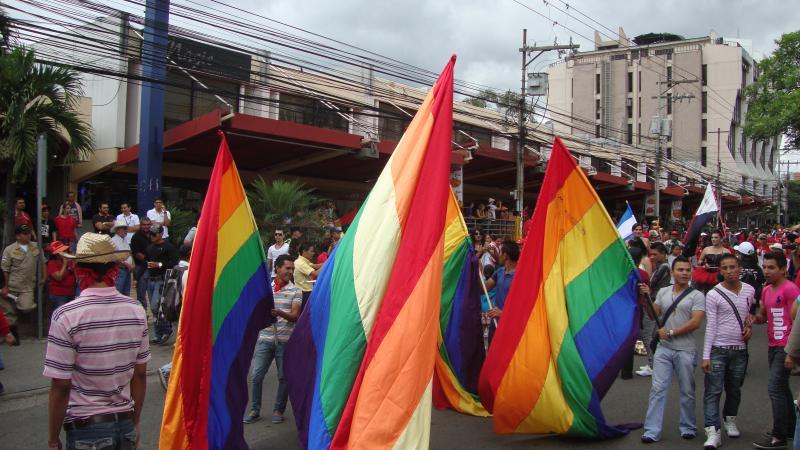 Fahnen der LGBT-Gemeinschaft
