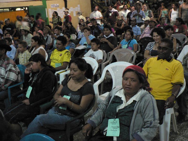 Vertreter von nationalen und internationalen Organisationen beim Menschenrechtstreffen
