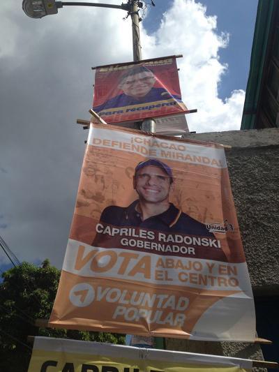 Mehr Wahlplakate passten nicht mehr an die Pfosten
