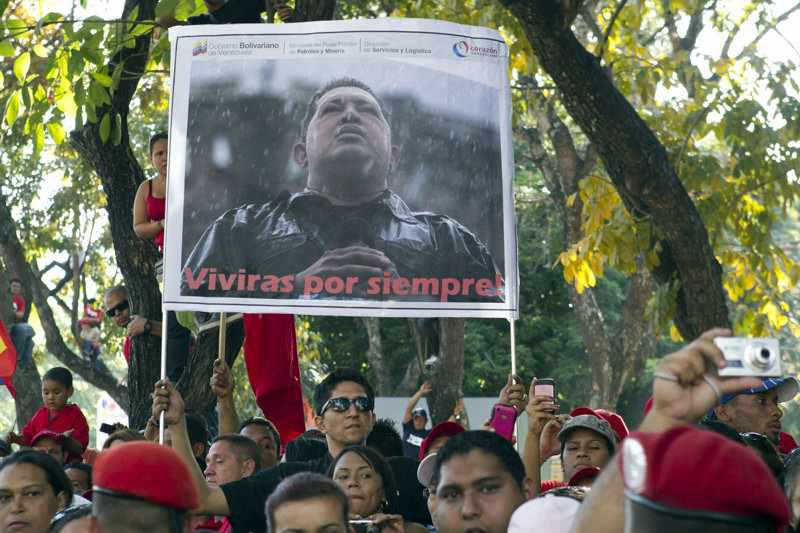 """Anhänger von Hugo Chávez: """"Du wirst für immer leben"""""""