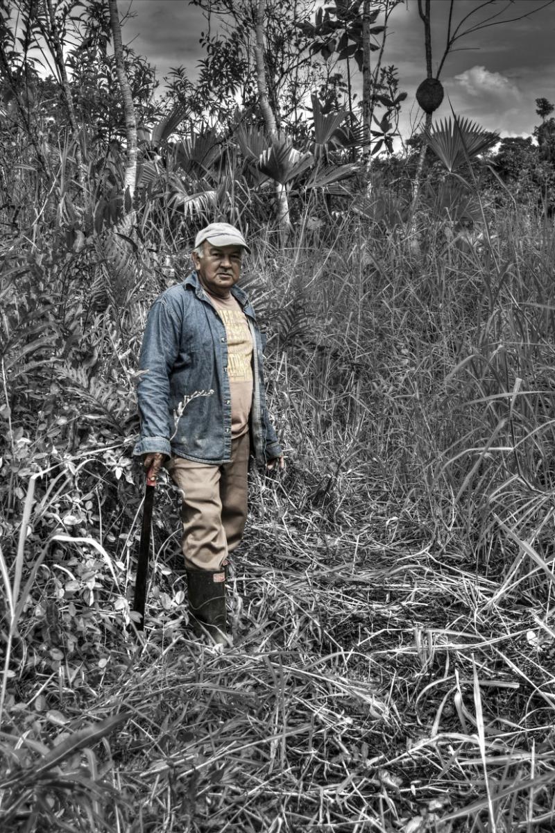 Der Anwohner Chico Herrera