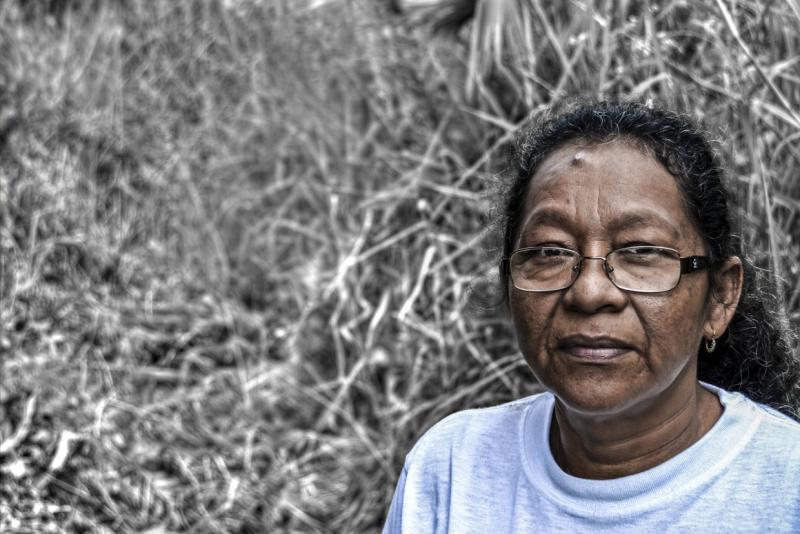 So wie Carmen Isabel Esperanza Ochoa wollen viele Bewohner des betroffenen Gebietes im Osten von Ecuador Chevron für die entstandenen Schäden in die Pflicht nehmen