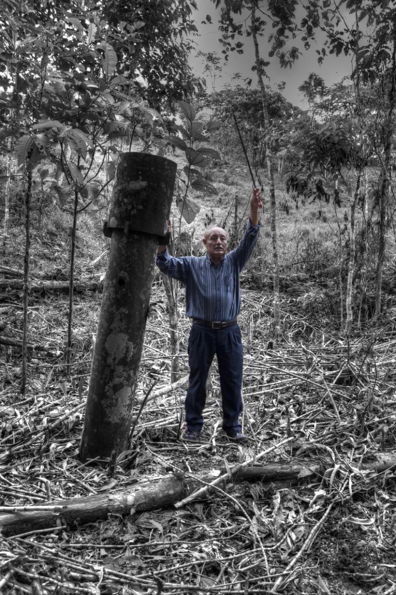 José Mecerdo Zhingre war an der Klage gegen Chevron in Ecuador beteiligt