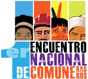 Plakat zum ersten nationalen Treffen der Kommunarden