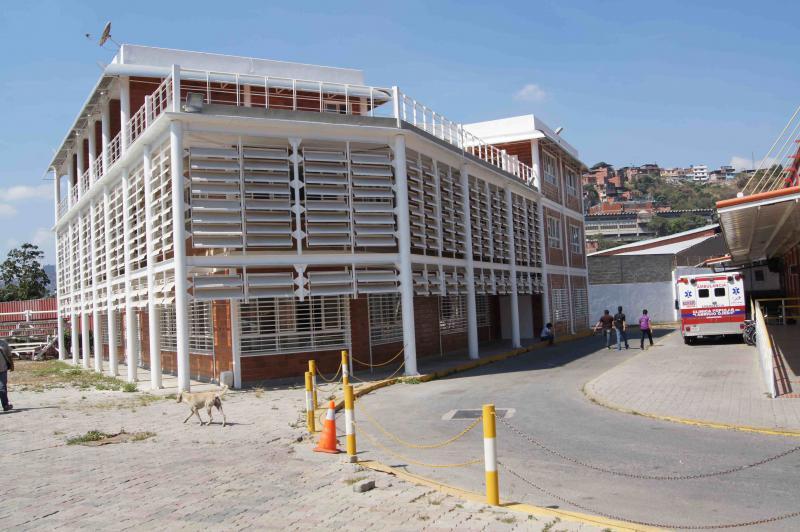 Klinik im Nucleo Endogeno Fabricio Ojeda im Westen von Caracas