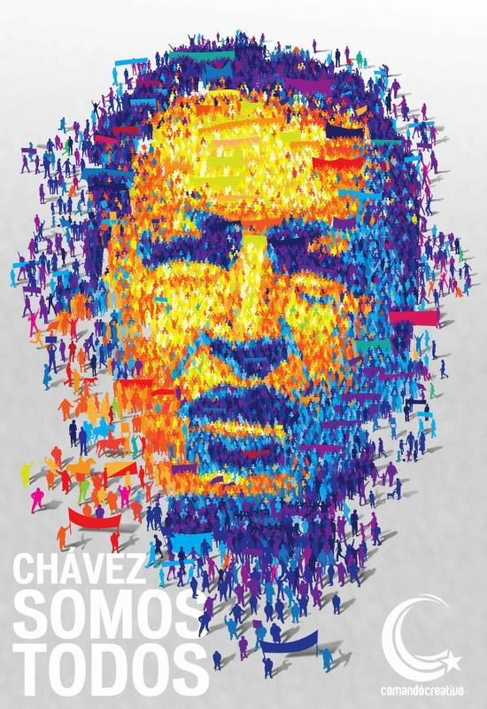 """""""Chávez Somos Todos"""" - Wir alle sind Chávez - ist seit der Erkrankung von Hugo Chávez die Parole seiner Mitstreiter und Anhänger."""