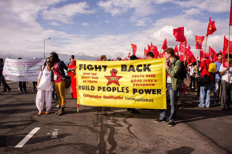 """Fight Imperialism – Stand Together"""