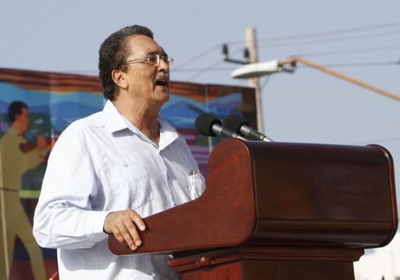 Der Regierungschef von Santa Lucia, Kenny Anthony