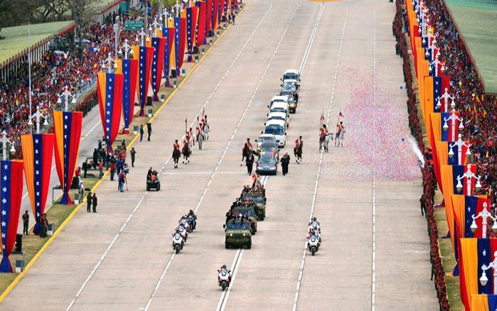 Die sterblichen Überreste von Hugo Chávez wurden am Freitag, 15. März von Fuerte Tiuna in das Militärmuseum gebracht