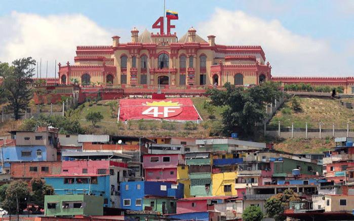 Das Militärmuseum im Stadtteil 23 de Enero in Caracas, die letzte Ruhestätte von Hugo Chávez