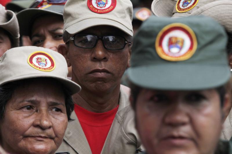 Angehörige der Miliz