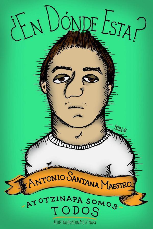 Ich, Frida, will wissen, wo Antonio Santana Maestro ist