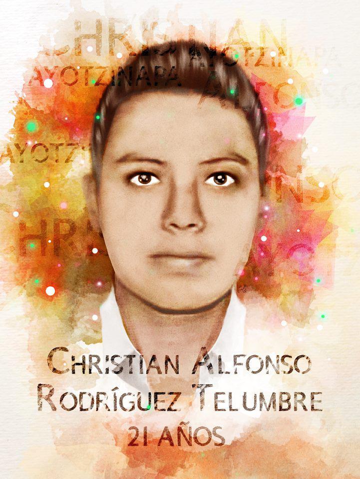 Ich, Haydee Flores, will wissen, wo Christian Alfonso Rodríguez Telumbre ist