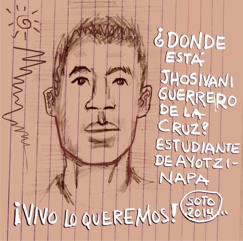Ich, Rubén Eduardo Soto Diaz, will wissen, wo Jhosivani Guerrero de la Cruz ist
