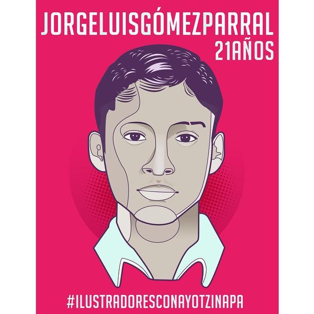 Ich, Juan Manuel Nares, will wissen, wo Jorge Luis Gómez Parral ist