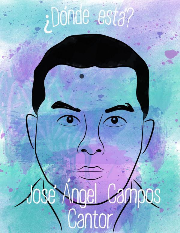 Ich, Lida S. Martínez, will wissen, wo José Ángel Campos Cantor ist