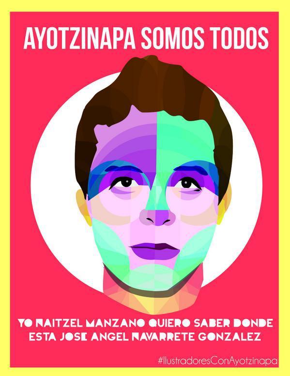 Ich, Naitzel Manzano, will wissen, wo José Ángel Navarrete González ist