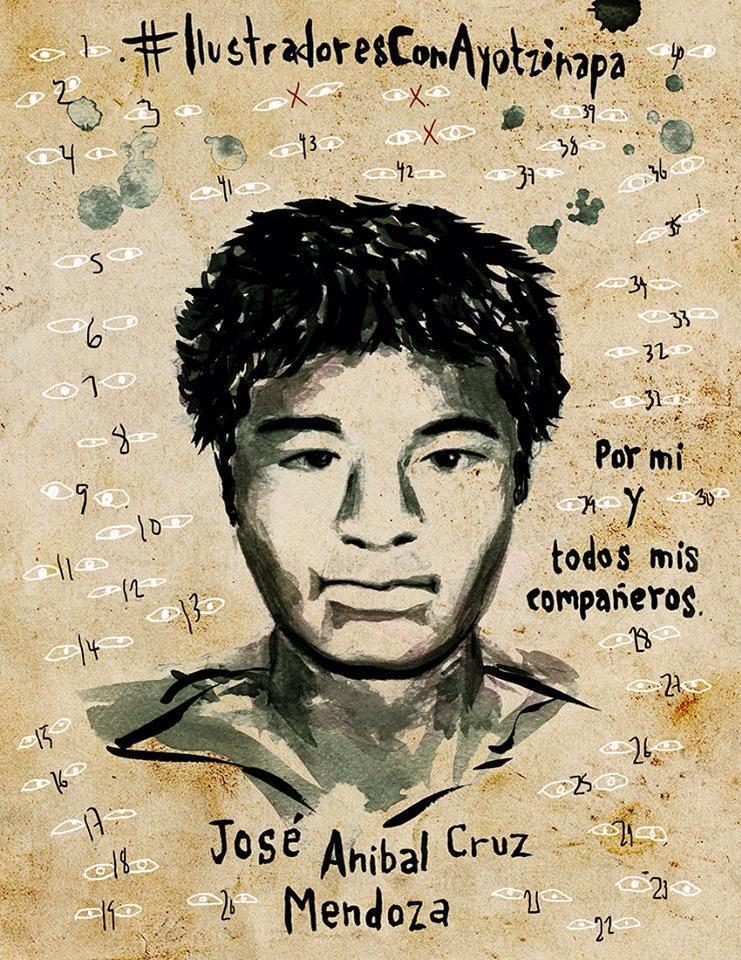 Ich, Ale España, will wissen, wo José Aníbal Cruz Mendoza ist