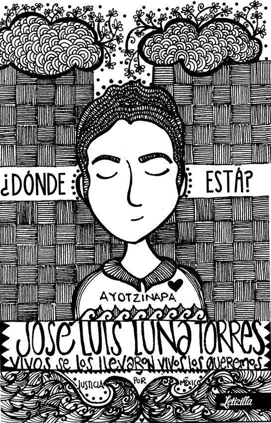 Ich, Letizilla, will wissen, wo José Luis Luna Torres ist