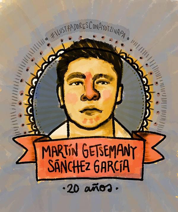 Ich, Gina Fuentes, will wissen, wo Martín Getsemany Sánchez García ist