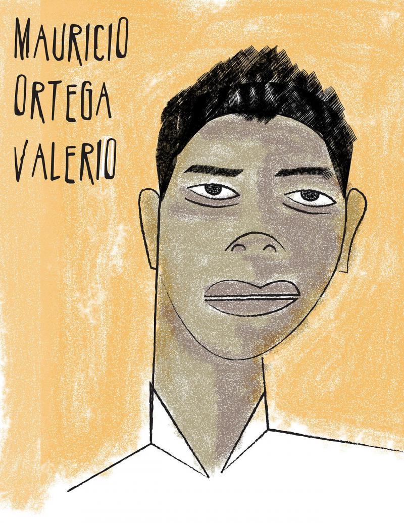 Ich, Gonzalo Fontano Patán, will wissen, wo Mauricio Ortega Valerio ist
