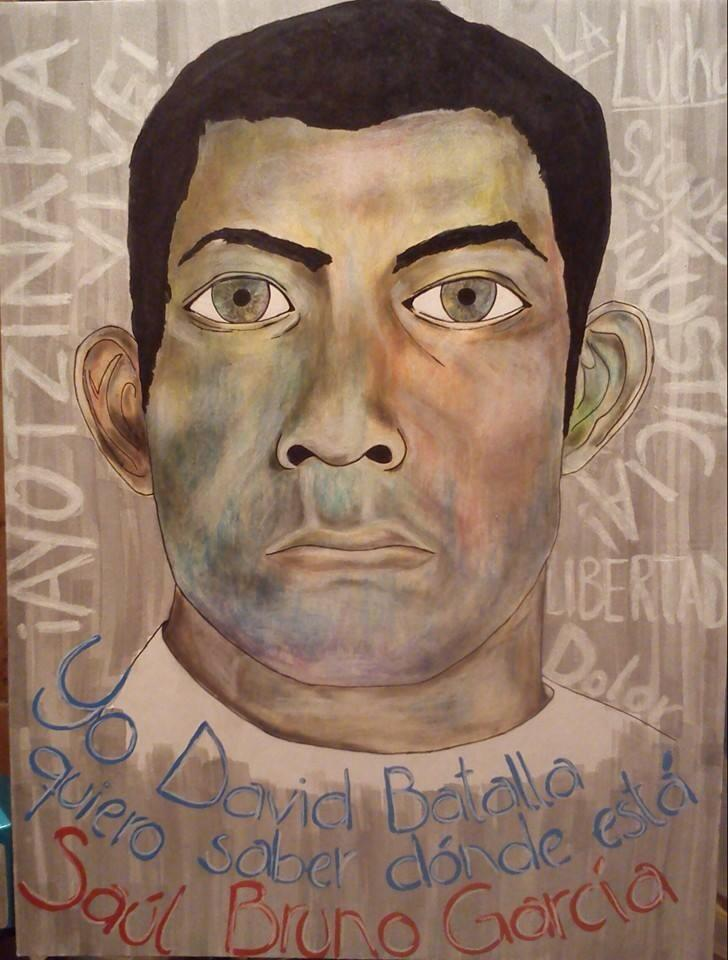Ich, David Batalla, will wissen, wo Saúl Bruno García ist