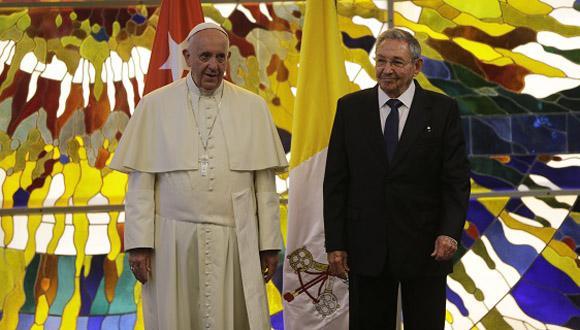 Am Nachmittag wurde er von Präsident Raúl Castro im Palast der Revolution zu einem mehrstündigen Gespräch empfangen