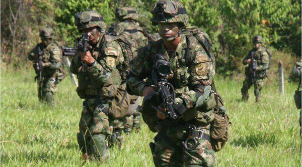 Operation der kolumbianischen Streitkräfte