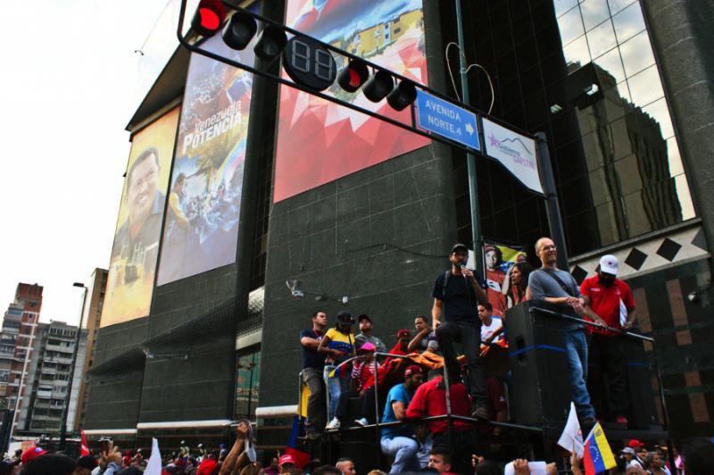 """""""Die Häuser wurden im Interesse der Gesellschaft gebaut, man kann das nicht für das Marktinteresse ändern"""", so Juan Carlos, ein Sprecher der Bewegung"""
