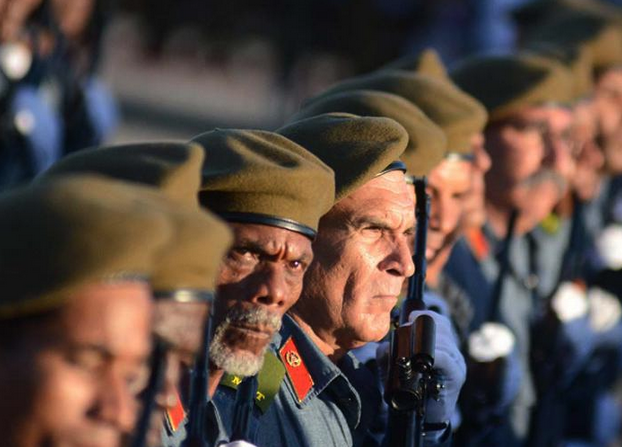 Veteranen des Guerillakrieges gegen Diktator Fulgencia Batista.