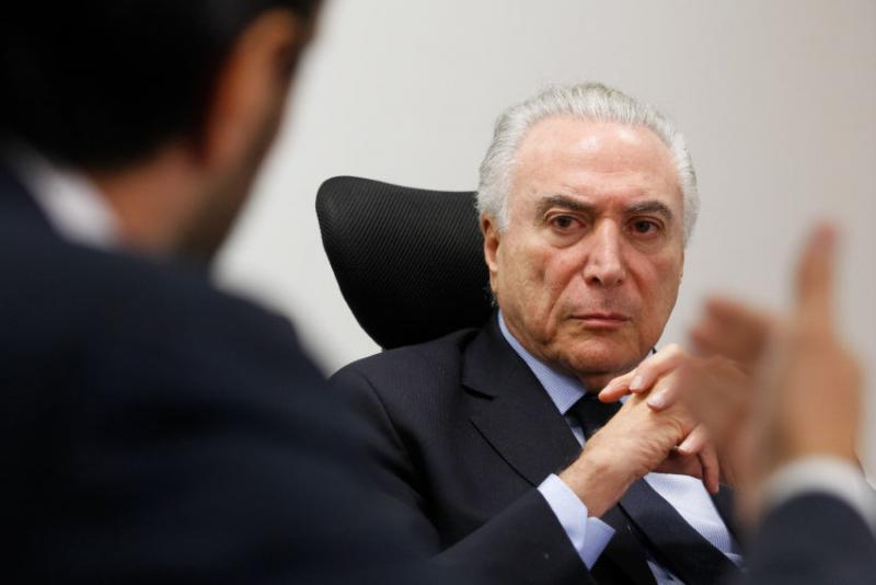 Muss Ministern anderer Parteien mehr Platz einräumen: Brasiliens Interimspräsident Temer