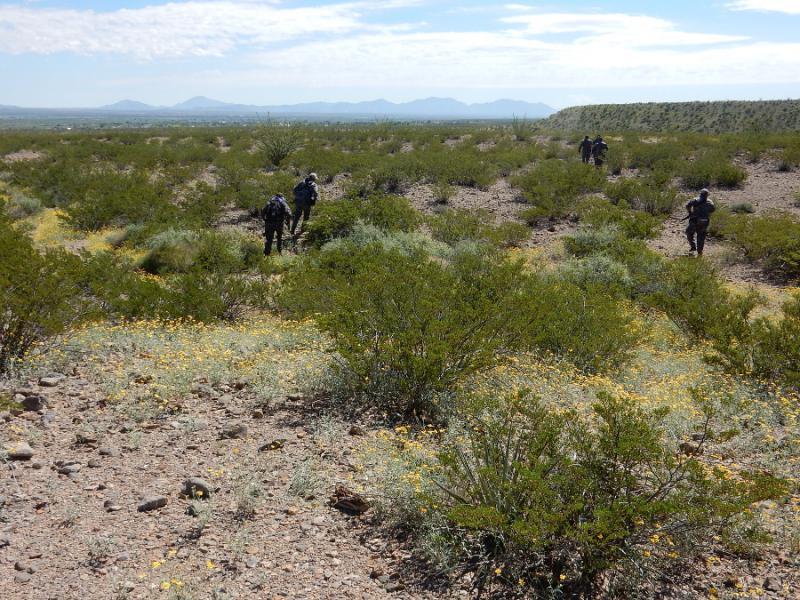 Dort, wo im ausgetrockneten Navajobachlauf schon die Überreste von ermordeten Frauen und Mädchen gefunden wurden, soll weitergesucht werden