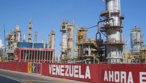 Die Ölförderung ist der wichtigste Wirtschaftszweig in Venezuela