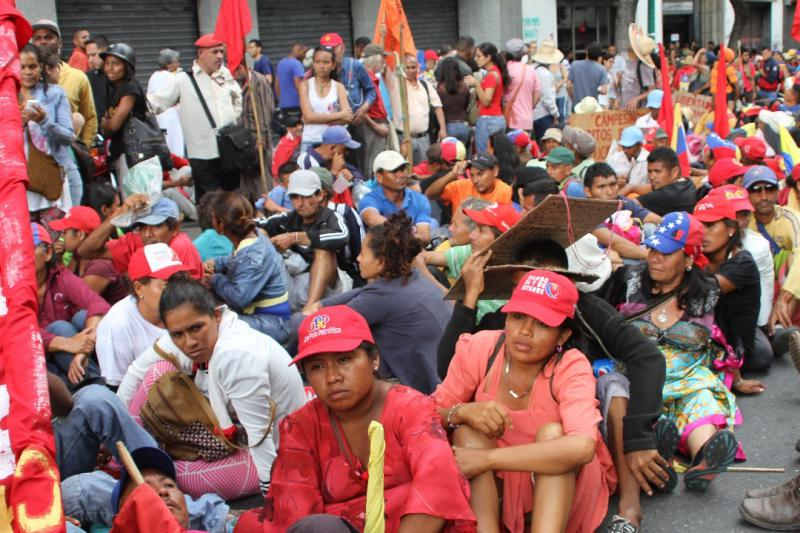 Die Bauern besetzten daraufhin die Straße