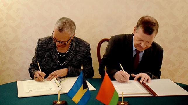Belarus und die Bahamas haben diplomatische Beziehungen aufgenommen