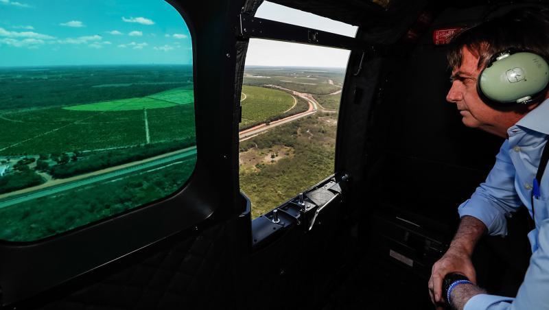 Brasiliens Präsident, Jair Bolsonaro, scheint sich eher erfreut zu zeigen, dass Deutschland vorerst seine Regierung nicht mehr für den Erhalt des Regenwalds finanziell unterstützen will