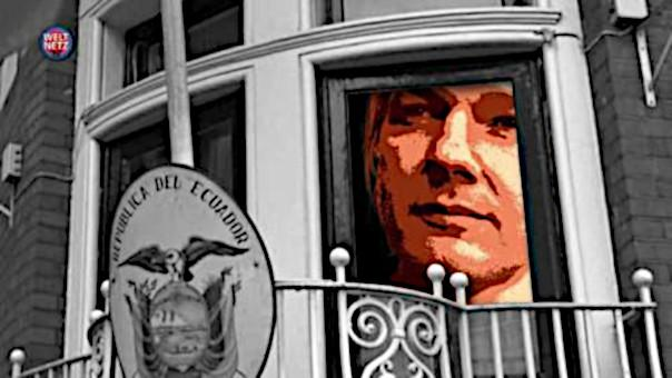 Seit sechseinhalb Jahren harrt der Wistleblower Julian Assange in der Botschaft Ecuadors in London aus